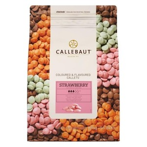 CALLEBAUT DROP STRAWBERRY (ÇİLEK) ÇİKOLATA 2,5 KG